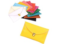Free Shipping New Arrival PU Leather Envelope Handbags For Women Cross-body Clutch Chain Purse vintage styles 12 colors