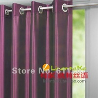 Hot Sale ~ Wholesale 2pcs/lot  Europe Gauze Curtain,Provence Style,8 Kind Of Color To Choose Free Shipping 140cm*250cm
