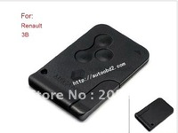 Renault MEGANE REMOTE key card with 433MHZ,Renault 3 button smart key with 433MHZ