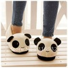 K5 Plush Women and men Winter Fuzzy plush PANDA slippers, free shipping