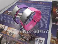 dropshipping 300pcs/lot bridge shape silver face cheap watch,led digital movement,12color, for men/women/girl/boy