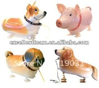 My own pet balloon,mylar foil walking pet animal balloon