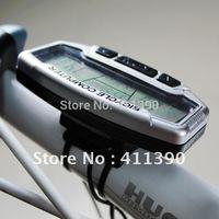 Digital LCD Backlight Bicycle Computer Odometer Bike Meter Speedometer SD558A Clock Stopwatch