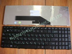 Free shipping+Russian Laptop keyboards Notebook parts For ASUS k50 k50ab k50c k60 x51 k50ij f52q k70ij x70i p50ij x5dij RU Black(China (Mainland))
