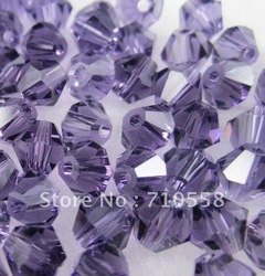 AAA Quality Tanzanite Color 3mm,4mm,6mm 5301 Crystal Bicone Beads(China (Mainland))