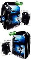 HOT SALE  MUSIC super star Michael Jackson backpack style schoolbag soft pu bag