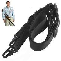 Universal 2-Point Tactical Rifle Gun Strap Sling Elastic Bungee Snap Hook