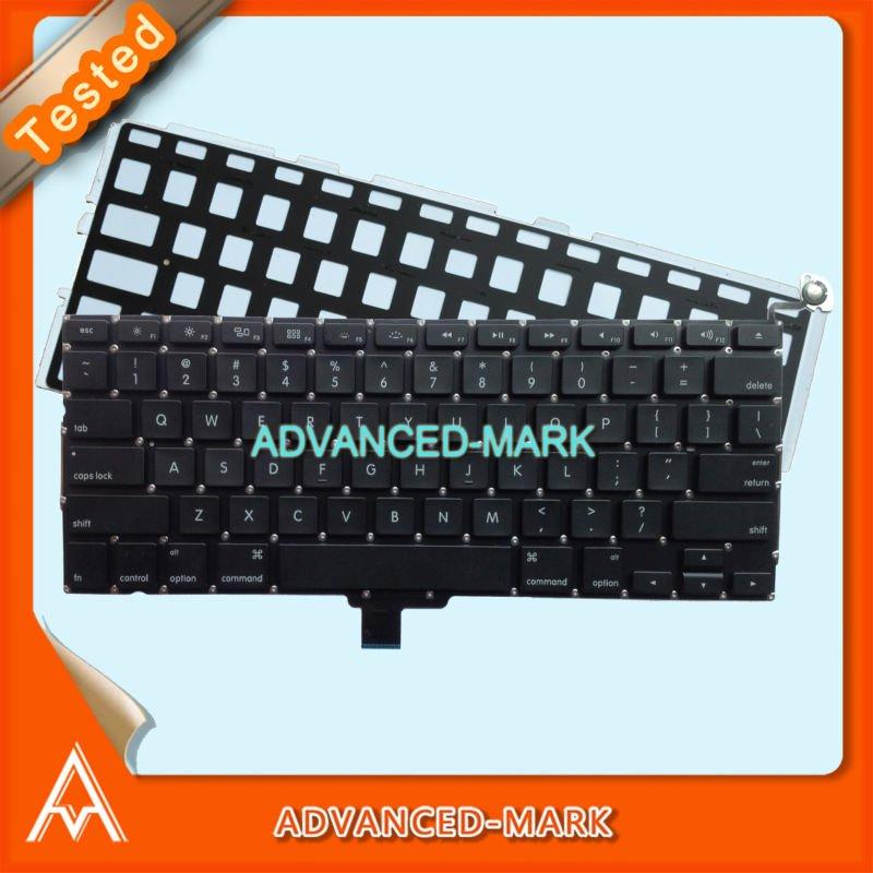 "Laptop 13.3'' A1278 US Keyboard for MacBook Pro 13"" Unibody MC700 MC724 2009 2010 2011 Year Model , with Backlight,Test OK(China (Mainland))"