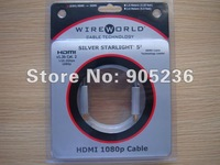 Wireworld Cable Technology's wireworld Starlight 6 New high-end Silver-clad OFC HDMI cable 1Meter new in box