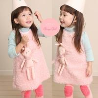 Брюки для девочек 2 in1 children's cotton culottes autumn and winter pants~ #5259