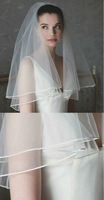 A beautiful 2 tier veil in our classic tulle with a delicate Russian braid edge Wedding Veil Bridal Accessory