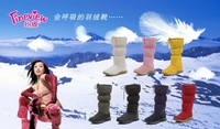 Wholesale fashion 5815 classic fashion winter warm hot mid-calf ladies' now boots factory price top quality free shipping