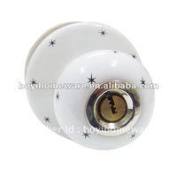 star house room bedroom bathroom kitchen door lock wholesale and retail 24 sets/lot S-008