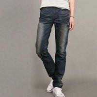 new 2013 Arrival Free Shipping Slim Fashion Denim hansome Pants Blue jeans man jeans are male Harem Pants K008
