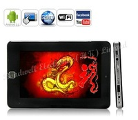 Nine Dragon Tabulus - Quad Band 7 Inch Touchscreen Android 2.2 Tablet Phone with WiFi, Camera (VIA VM8650, 256M, 4GB)