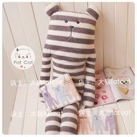 Pear chili stripe plush toy doll dolls cushion pillow
