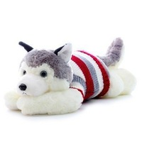 Plush toy dog Large husky doll birthday gift
