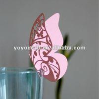 wedding  place cards MOQ 300pcs for wholesale