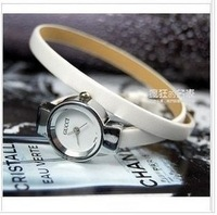 Exquisite  slender watch ultra long watchband watch ring fashion table ladies watch