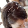 Min.order is $15 (mix order) VOGUE BLING RHINESTONE HAIRBAND TWO COLOURS
