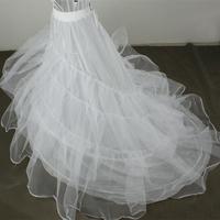 Bride train bustle wedding dress formal dress accessories double layer yarn wire ultralarge panniers y11004