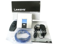 Unlocked  LINKSYS PAP2T-NA 2FXS VOIP IP Phone  Free shipping