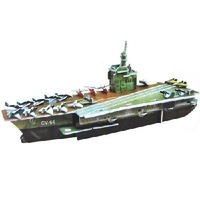 Small the 3D jigsaw puzzles - an aircraft carrier