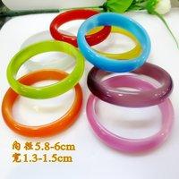 Free shipping,1.3-1.5cm Agate bracelet,2012 best selling bracelet wholesale,5pieces/lot,Multiple color choice.