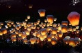 10pcs Wishing Light for celebrate KongMing Lanterns