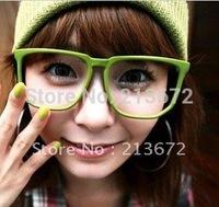 free shipping-12pcs/lot-Fashion Glasses Super Cute Love Princess Sunglasses Frame Colourful/retro glasses frame-retail