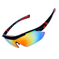 MENS Sports UV400 Bike Bicycle Cycling Sunglasses Goggle 5 Lens Glasses BOX Free Shipping + Drop Shipping