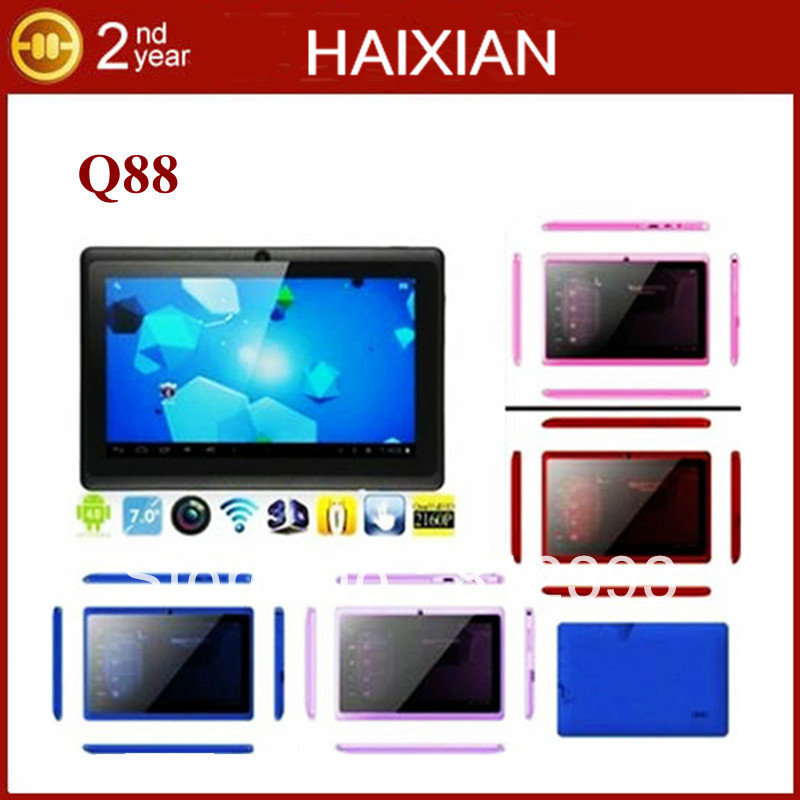 Inch cheap Capacitive touch screen Android 4.0 Boxchip A13 tablet pc