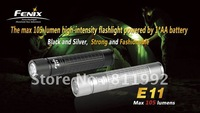 Fenix E11 Cree XP-E 105 Lumen 2-Mode AA Battery LED Waterproof EDC Flashlight free shipping