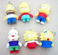 New Design SimpsonUSB Flash Drive Disk, Fast Delivery, Free Shipping!