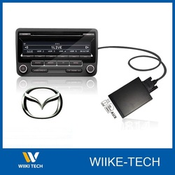Car CD Changer Car MP3 Player Adapter with USB/SD/AUX for Mazda 3/5/6/CX7/X6/323/RX8/MPV(China (Mainland))