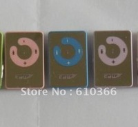300pcs Newest Plastic Clip mp3 player Support TF SD Card mutil color Good quality by DHL Fast Free Shipping