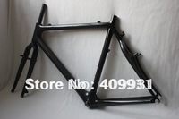 Carbon cyclocross bicycle frame AC043 with 2 years of warranty