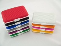free shipping 20pcs/lot  new product silica gel credit wallet (10 colors avaliable)  credit card holder