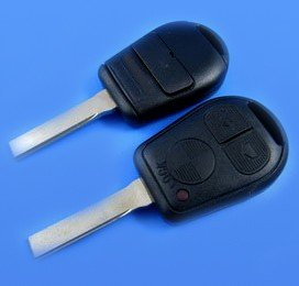 3 Buttons 2 Track Transponder Key Shell for BMW