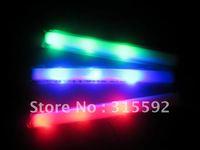 Free Shipping single color 400pcs/lot led  foam stick, light cheering glow foam stick foam led stick for party