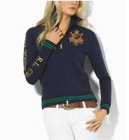 HOT! FreeShipping! 2013 women's polo diiminosuccinonitrilo embroidery outerwear sweatshirt We Do DropShipping T-Shirt