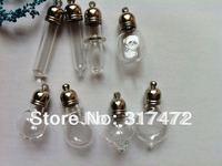 Freeshipping!! Mix Stytle Vial pendants Rice Art Jewelry Pendants