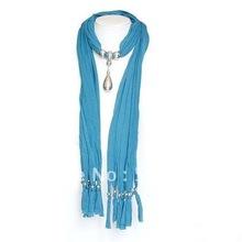 popular pendant necklace scarf