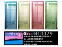 Free Shipping Fly Screen Door Magnetic Stripe Mesh Prevent Mosquito Net household textile product