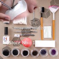 Professional Fake False Eyelash Eye Lashes Extension Kit Set Make Up Cosmetic Free Shipping
