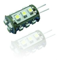 EMS DHL Free Ship Warm White/White LED G4 Base 12V DC 15 Epistar 3528/1210  High Bright SMD 360 Degree Yachts Carts Bulb Lamp