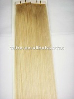 "100%  beauty grade AAA fashion tape hair extension 20"",100g"