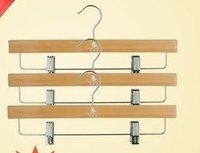 Wood pants hanger multifunctional clip pants clip 3
