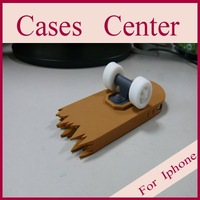 Free shipping skateboard case for iphone4, skateboard shell for iphone, wholesale price