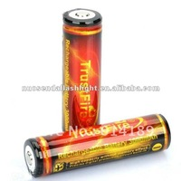 TrustFire 18650 3000mAh 3.7V Li-ion Rechargeable Battery with PCB (1 pair)
